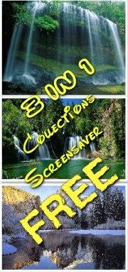 Free screensaver:3 IN 1 - 3 бесплатных хранителя экрана на тему Природа